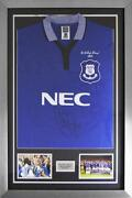 Signed Everton Shirt
