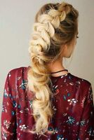 Hairstylist offering hairstyles for Christmas Parties
