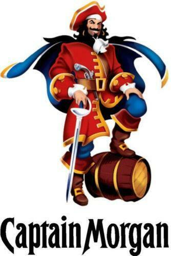 Captain Morgan Sticker Ebay