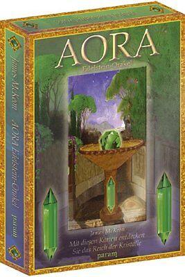 AORA Edelstein-Orakel Karten Set mit Buch - NEU Originalverpackt - James McKeon