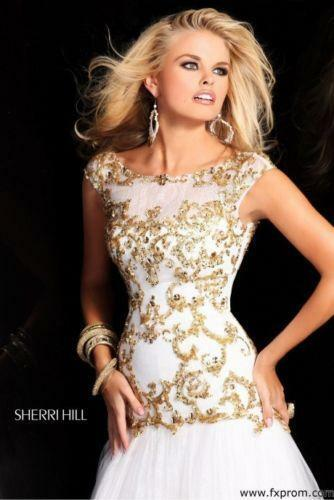 70751c63e4f Sherri Hill Prom Dress