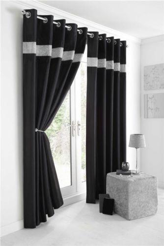 Diamante Curtains | Luxury Curtains | eBay