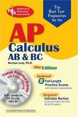 AP Calculus AB/BC w/CD-ROM (REA) The Best Test (Best Ap Calculus Textbook)