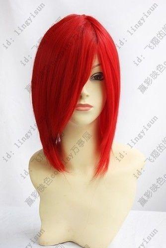 Short Red Wig Ebay