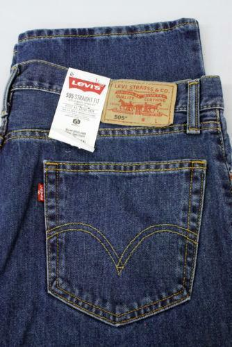 Levi 505 Regular Fit Mens Jeans