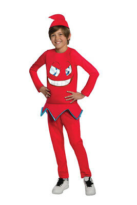 Kids Pac-Man Blinky Video Game Halloween Costume ()