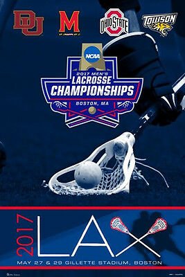 NCAA MEN'S LACROSSE CHAMPIONSHIPS 2017 Official POSTER -