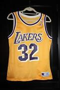 Magic Johnson Champion Jersey