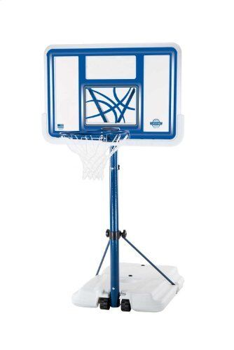 Lifetime 1306 Pool Side Height Adjustable Portable Basketball System, 44 Inch Backboard 1306