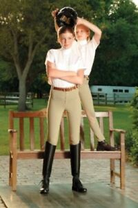 Red Label Riding Breeches, youth, SIZE 12, brand-new with labels