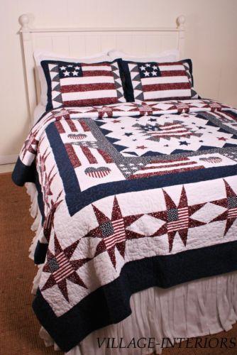 Americana Bedding Ebay