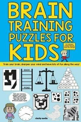 Brain Training Puzzles For Kids 100 of the best brain teasers w...