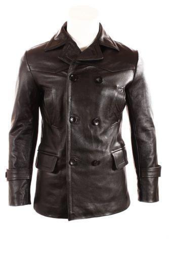 German Leather Jacket Ebay