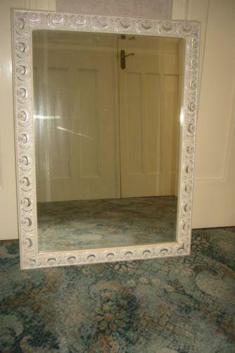 Silver Framed Mirror Ebay
