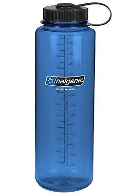 1.5 Litre Nalgene Tritan Wide Mouth Silo / Water Bottle / Canteen / Flask - Blue