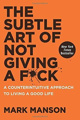 The Subtle Art of Not Giving a F*ck - Mark Manson Eb00k [ PDF , epub , KIndle  ]