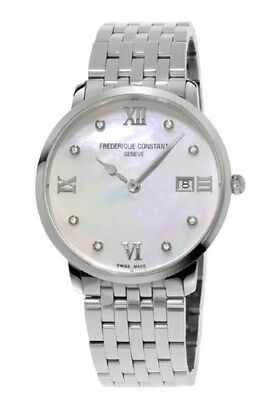 Frederique Constant Women's Quartz Diamond Accents 36mm Watch FC-220MPWD3S6B
