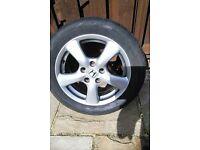 New Honda Civic 2015 - spare Wheel / tyre - NEW - UNUSED