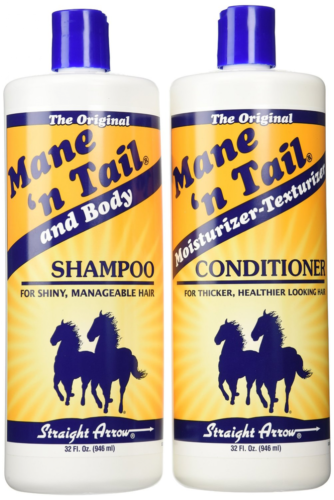 NEW - Mane 'N Tail Hair Shampoo and Conditioner Combo, 32 Ou