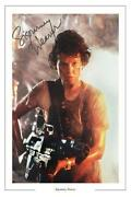 Sigourney Weaver Signed