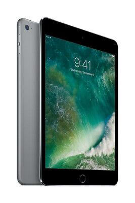 """Apple iPad Mini 4 7.9"""" Tablet 128GB Wi-Fi - Space Gray (MK9N2LL/A)"""