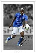 Mario Balotelli Signed