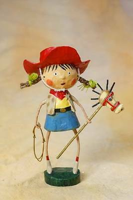 11040 Getty Up Lil' CowGirl Girl Lori Mitchell Figure Summer Western Stick Horse](Stick Figure Halloween Girl)