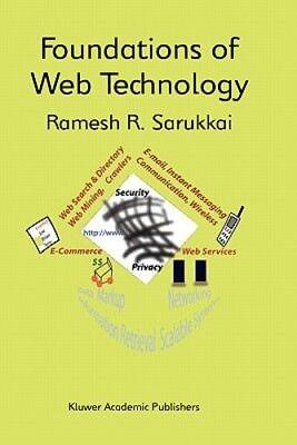 Foundations Of Web Technology By Ramesh R Sarukkai  New