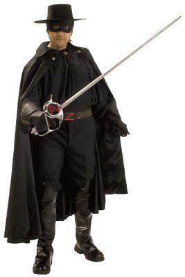 Rubie's Zorro Grand Heritage Collection Deluxe Costume ~ Standard - Deluxe Zorro Costume