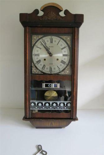 Wooden Pendulum Wall Clock Ebay