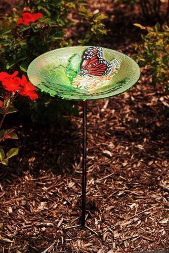 Butterfly Bird Bath Ebay