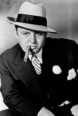Rod Steiger Al Capone with cigar 11x17 Mini Poster