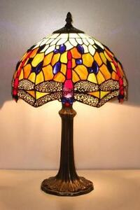 Red Tiffany Table Lamps
