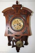 Vintage Pendulum Clock