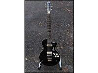 Black Framus Hollywood Electric Guitar