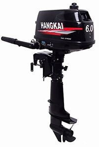 Two stroke water-cooled 6 HP outboard motor Inflatable Fishing B