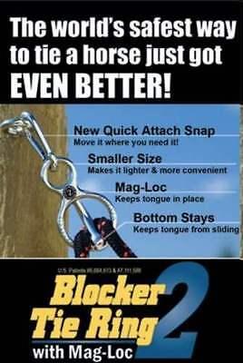 BLOCKER TIE RING   W/MAG-LOC    STAINLESS STEEL ()