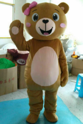 Teddy Bear of TED Adult Size Halloween Cartoon Mascot Costume Fancy Dress size - Ted Mascot Costume