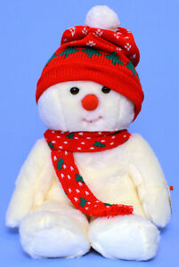 Snowboy the Snowman Ty Beanie Buddy stuffed animal