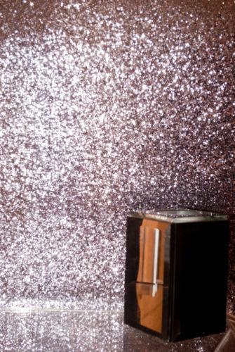 Grey Glitter Wallpaper Ebay