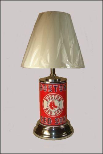 Red Sox Lamp Ebay