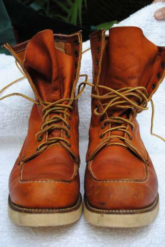 Red Wing Hiking Boots Ebay