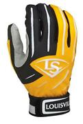 Yellow Batting Gloves