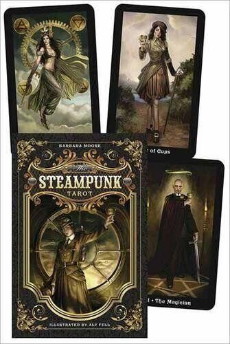 Steampunk Tarot Deck 78 Cards Divination Prophet Cards