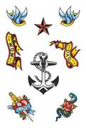 Sailor Temporary Tattoo
