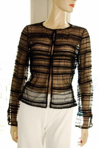 Sheer Evening Jacket Ebay