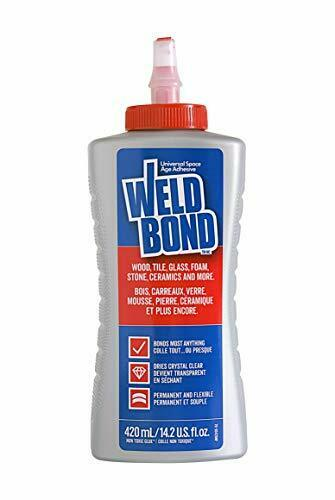 Weldbond 8-50420 Multi-Purpose Adhesive Glue 1 Pack As Pictured Brand New