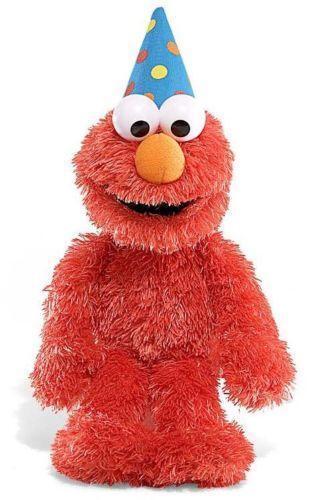 Talking Elmo Toy : Talking elmo muppets sesame street ebay