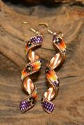 Native American Copper Earrings