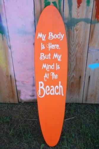 Surfboard Wall Hanging Ebay